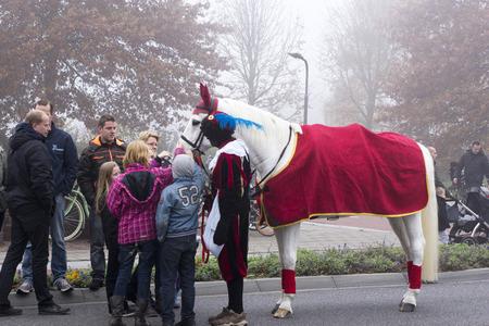 zwarte: Arrival of Sinterklaas in Winterswijk, The Netherlands