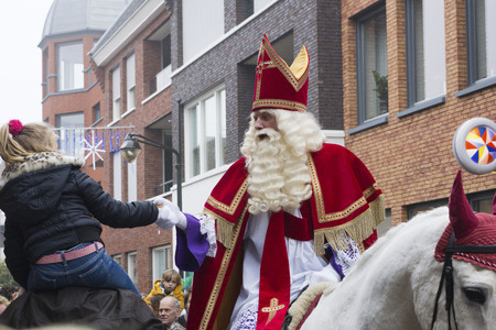sinterklaas: Arrival of Sinterklaas in Winterswijk, The Netherlands