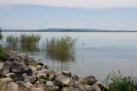 balaton: Shore of Lake Balaton in Hungary