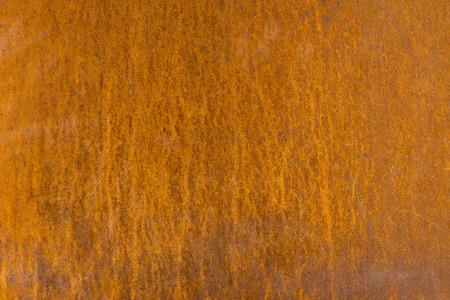 Background of orange rusty metal