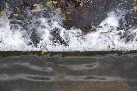 Background of splashing water Foto de archivo - 133739222