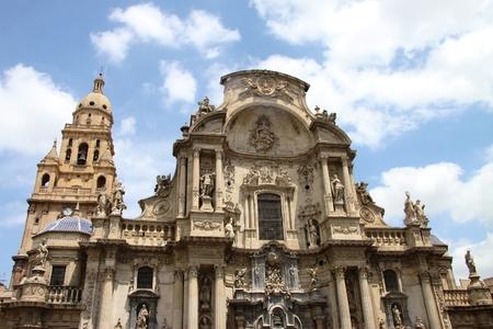 murcia: Cathedral, Spain. Murcia