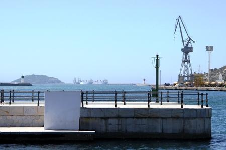 cartagena: Sea port of Cartagena. Spain