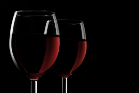 Two Glasses of Red Wine photo