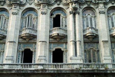 old photograph: Royal Theater, Old Havana, Cuba