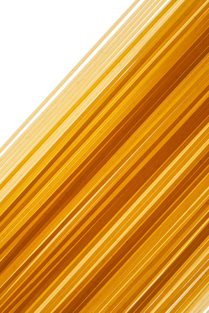 Raw uncooked Italian Spaghetti background, close up