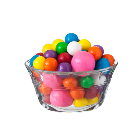 Gumballs multicolore gomme bolla, close up Archivio Fotografico - 41991278