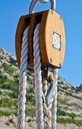 pulley: Polea
