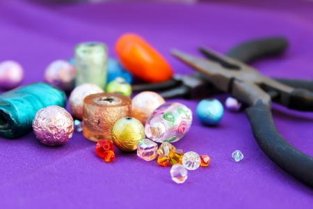 bijoux: Beads making equipment
