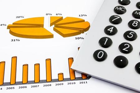 asset: Business chart Stock Photo