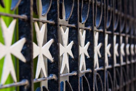 Malta cross gate - City symbol
