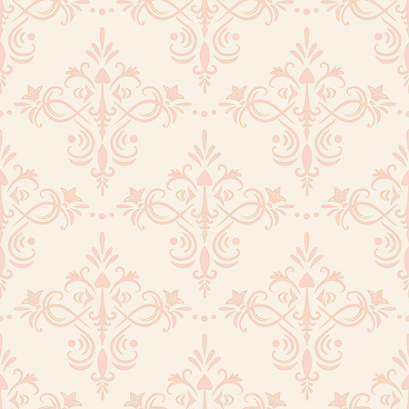 Unusual ornamental seamless pattern. Vector illustration