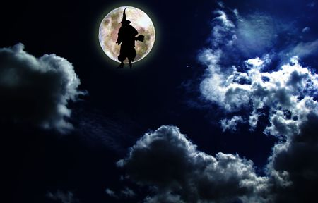witch coming Stock Photo - 2935197