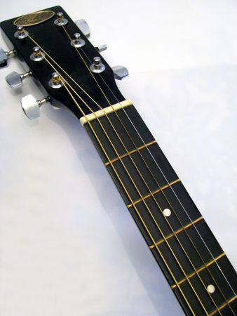 detail of the accustic guitar Stock Photo - 3079761