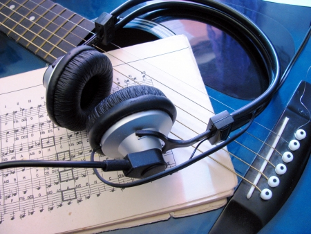 stanza: just music Stock Photo