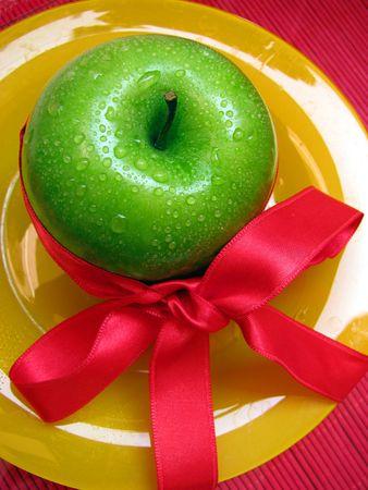 apple is gift photo