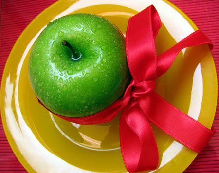 buena salud: Green regalo para una buena salud