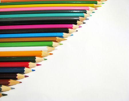 colored pencils Stock Photo - 3113390