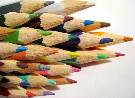 immaculate: many crayons