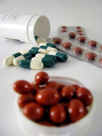 many pills Stock Photo - 3143042