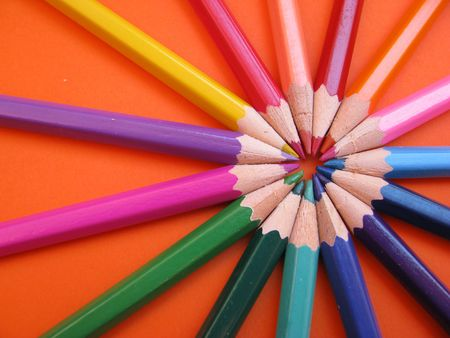 colored pencils Stock Photo - 3217631