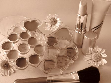cosmetic set  photo