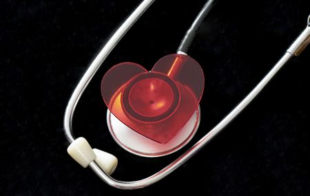 heart and stethoscope  Stock Photo - 3885423