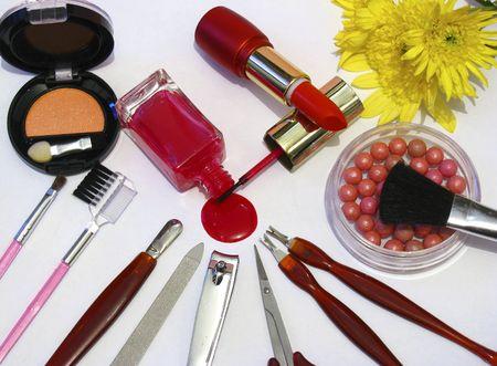 matte: make up set