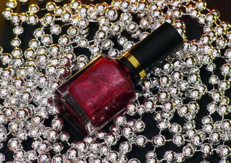 red nail polish photo