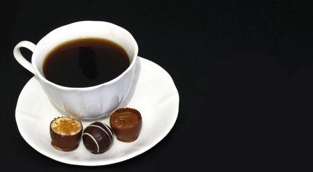 praline: koffie en praline