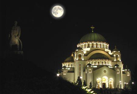 edifice: churche Sveti Sava in Belgrade