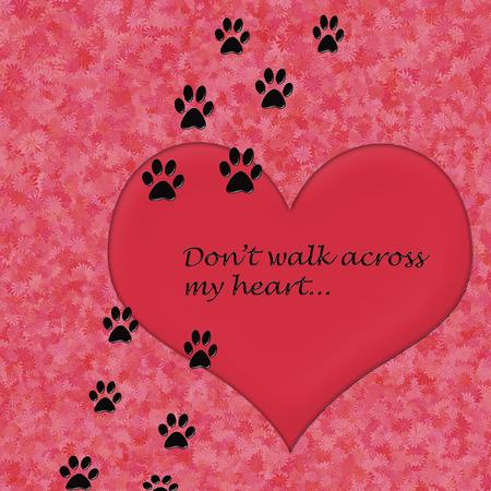 dont walk: dont walk across my heart