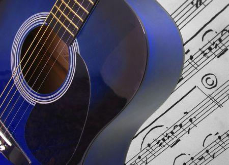 guitar nad notes photo