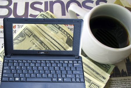 coffee time in business office Stock Photo - 4272362