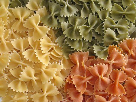 colored macaroni photo