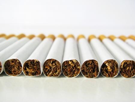 trashy: no smoke Stock Photo