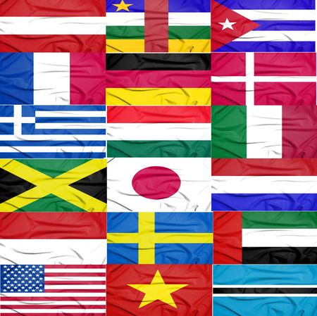 many flags photo