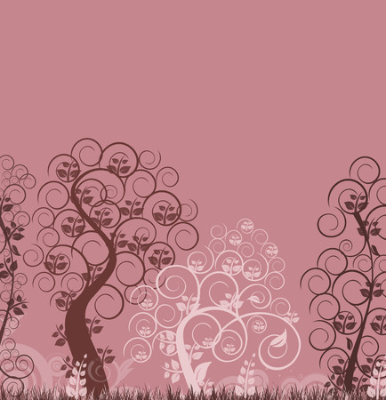 floral background Stock Vector - 4800707