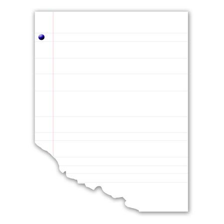 carta da lettere: lettere in bianco