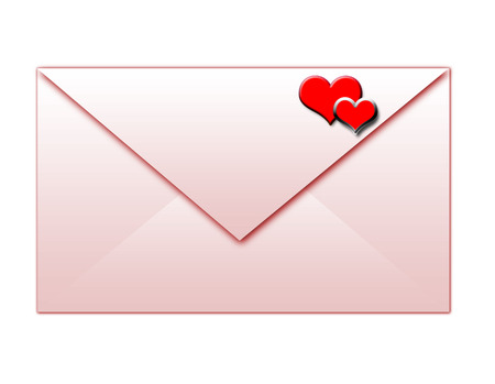 envelope for lovers Vector