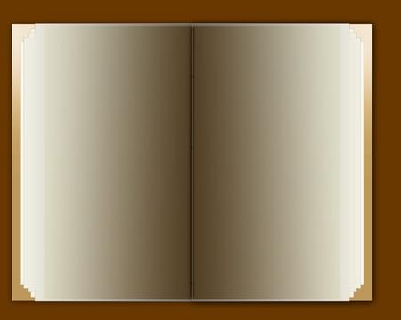 blank notebook Stock Vector - 4919521