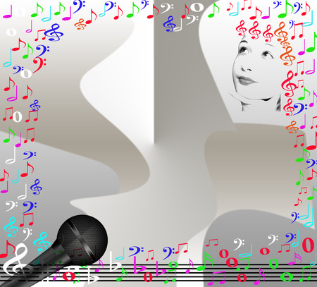 time for music Vector