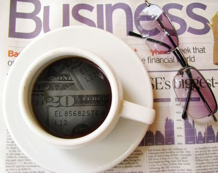 one more cup of coffee Stock Photo - 8315928