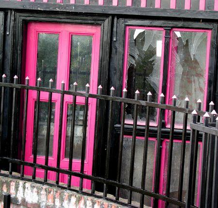 pink windows photo