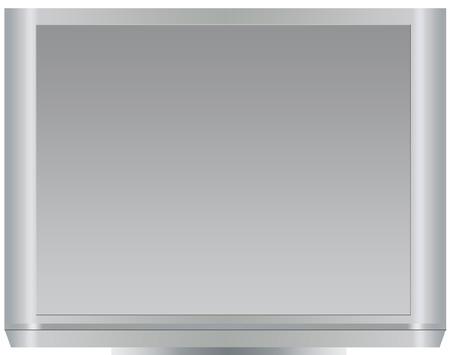 eilver monitor Stock Vector - 5733924