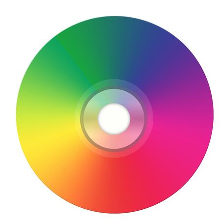 illustration of dvd Vector