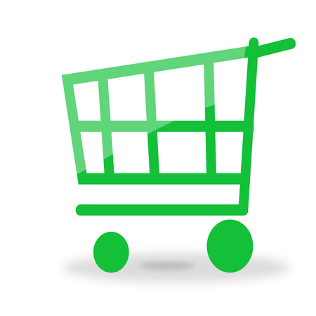 shooping cart icon Stock Vector - 5788989