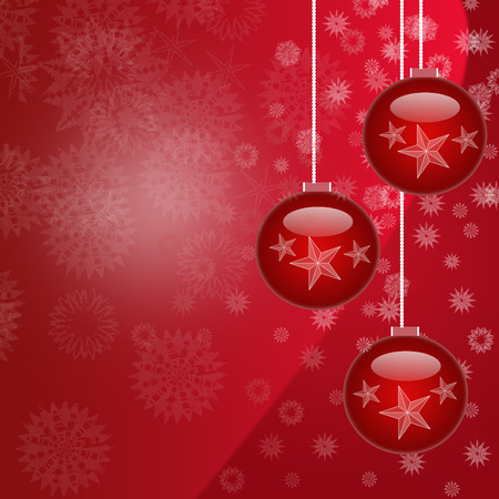 Beautiful  Christmas decorations Vector