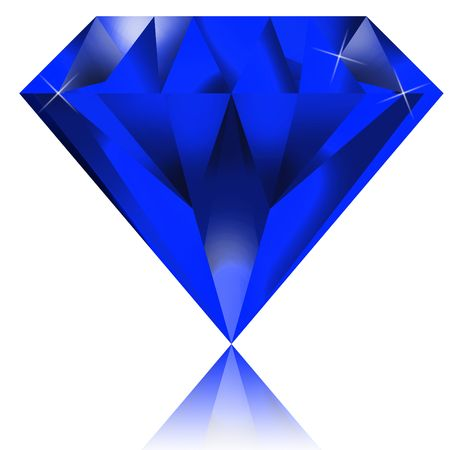 blue diamond Stock Photo - 6725186