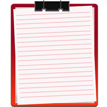 blank notebook Stock Photo - 6725188